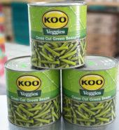 Cross-Cut Green Beans 2.6kg
