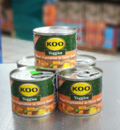 Koo Mixed Veg in Curry Sauce 215g