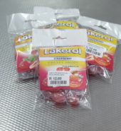 Lakerol Strawberry Fruity Drops – Honey Liquid Centre