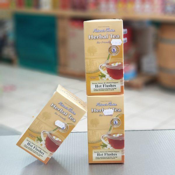 Natures Choice Herbal Tea - Hot Flushes